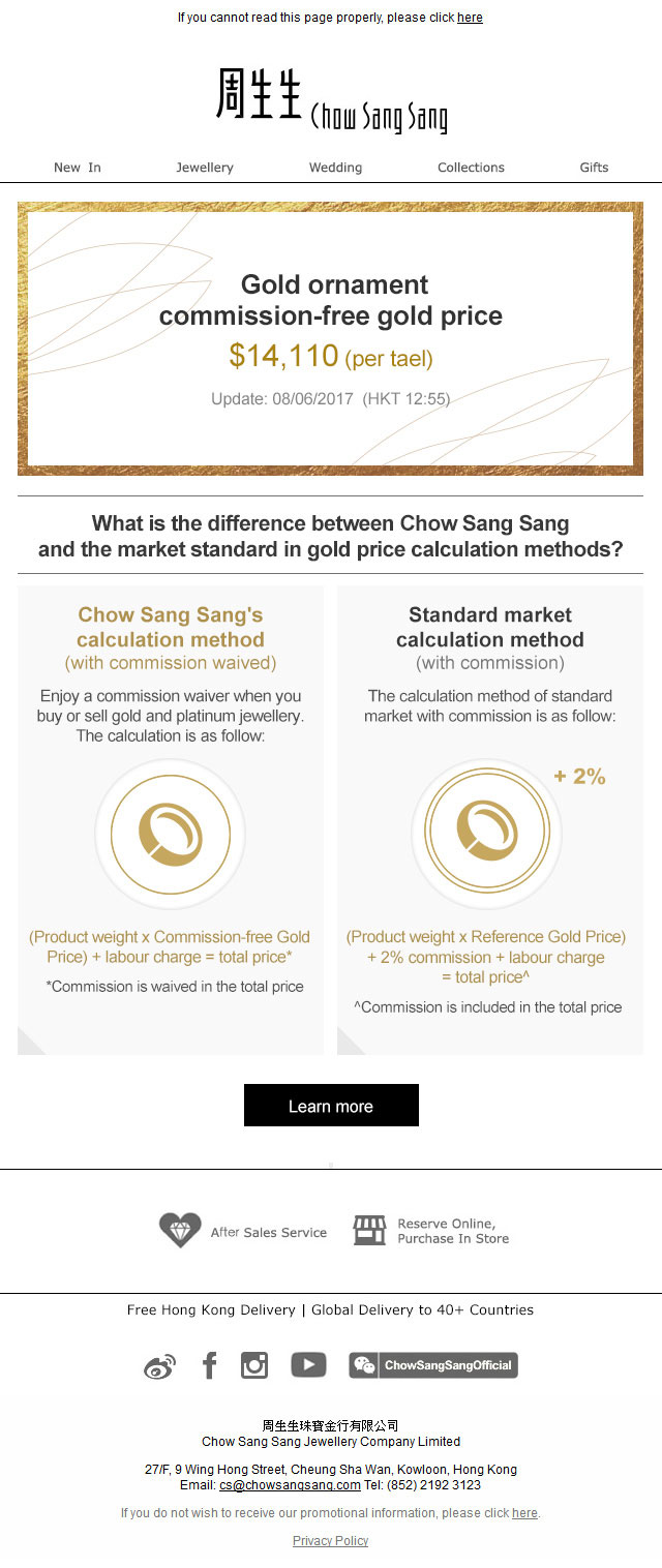 Gold Price Notification